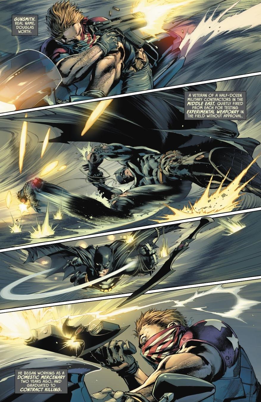 Batman VS Gunsmith