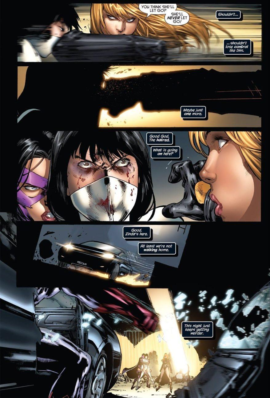 Black Canary And Huntress VS White Canary