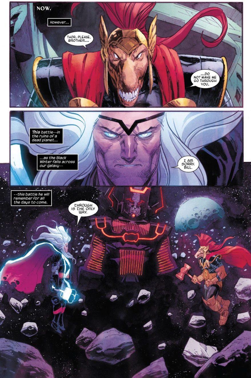 Cosmic-Powered Thor VS Beta Ray Bill