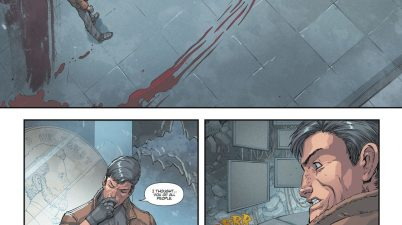 Red Hood Buries Batman (DCeased)