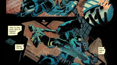 Batman Jim Gordon VS His Batsuit