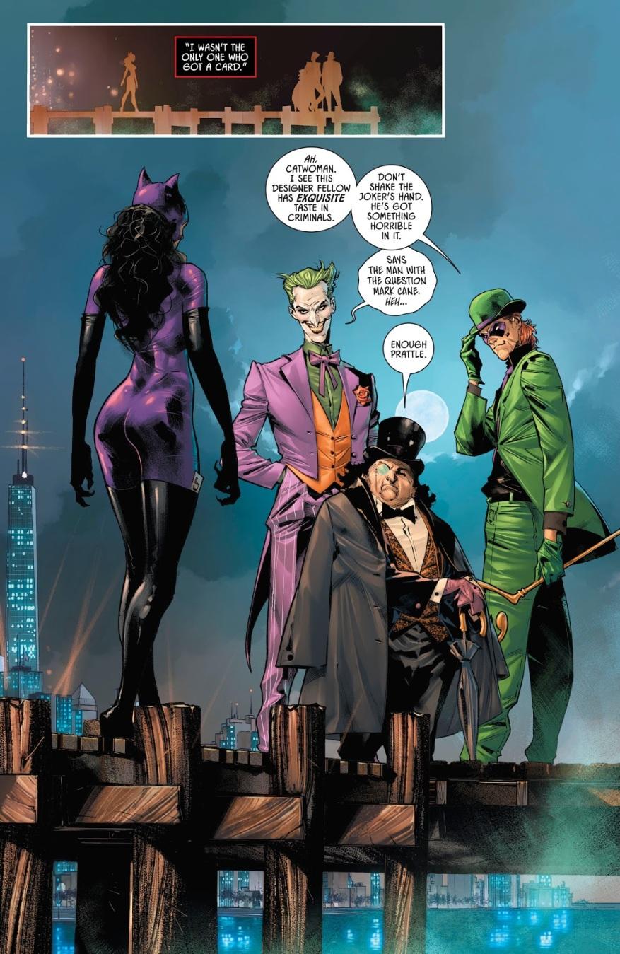 Batman's Rogue Gallery (Batman Vol. 3 #90)