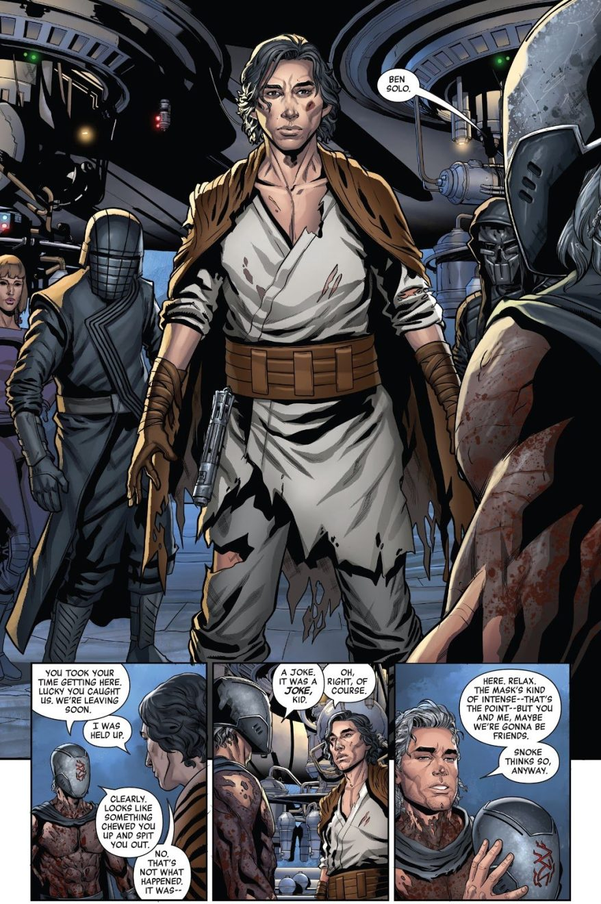Ben Solo Joins The Knights Of Ren