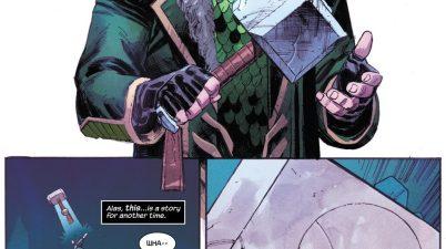 Loki Lifts Mjolnir