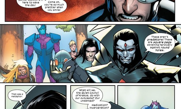 Mister Sinister Creates The Hellions