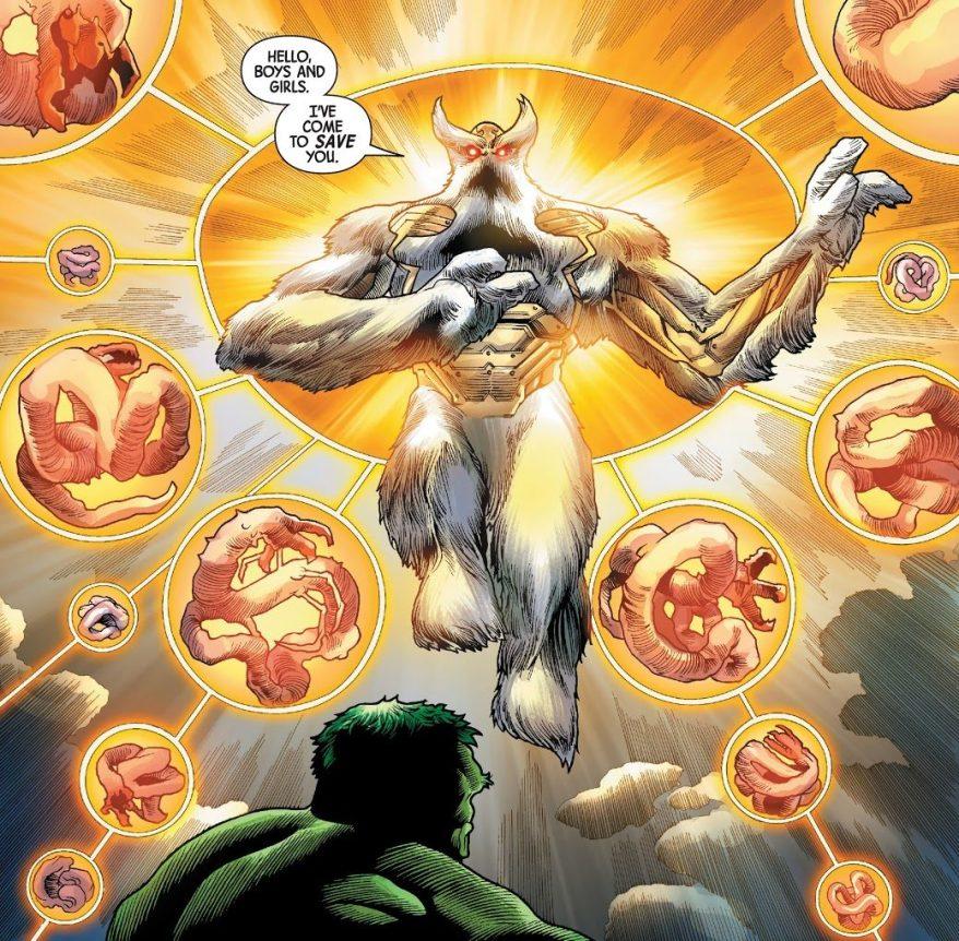 Xenmu (The Immortal Hulk #30)