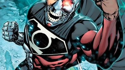 Cyborg-Superman Wears The Phantom Ring
