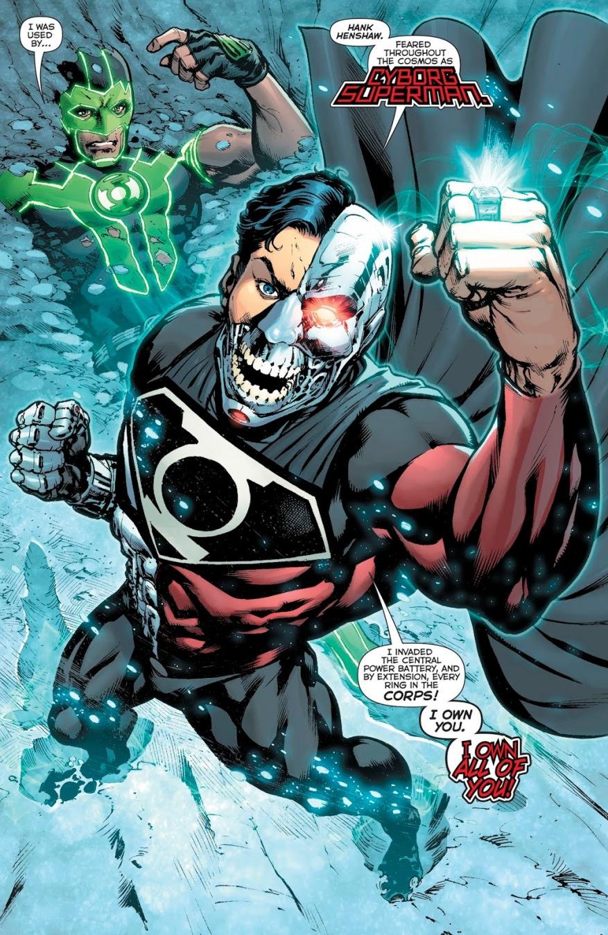 Cyborg-Superman Wears The Phantom Ring