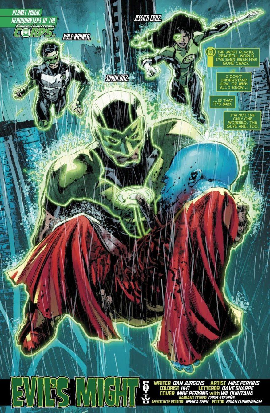 Green Lantern Corps (Green Lanterns Vol. 1 #51)
