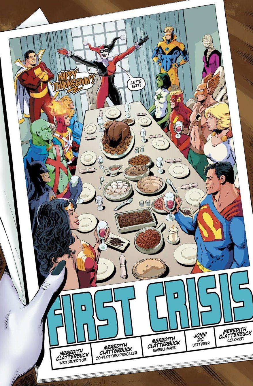 Harley Quinn First Crisis
