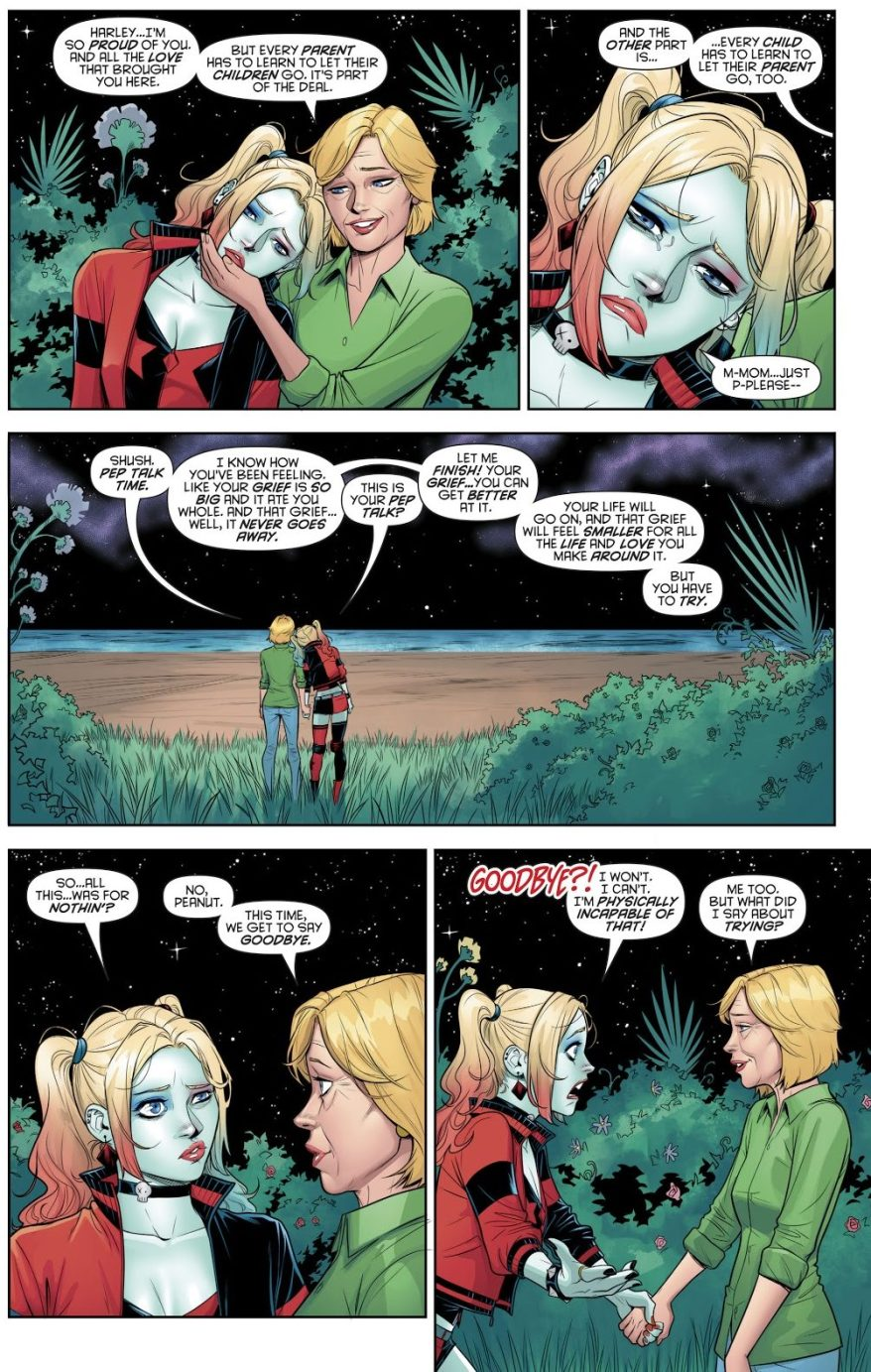 Harley Quinn Says Goodbye To Her Mother's Spirit