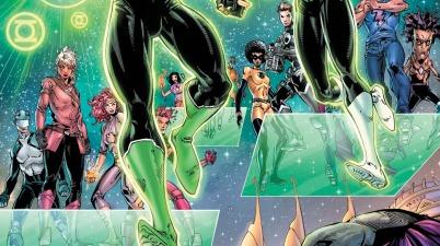 Jessica Cruz And Simon Baz (Green Lanterns Vol. 1 #42)
