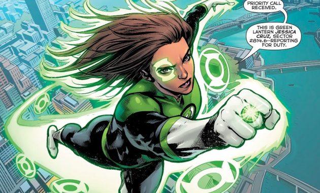 Jessica Cruz (Green Lanterns #44)