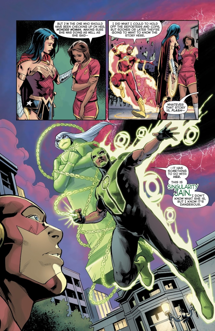 Justice League (Green Lanterns Vol. 1 #45)