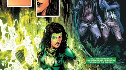 Power Ring Jessica Cruz (Green Lanterns #46)