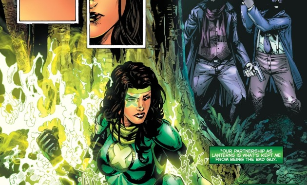 Power Ring Jessica Cruz (Green Lanterns #46)