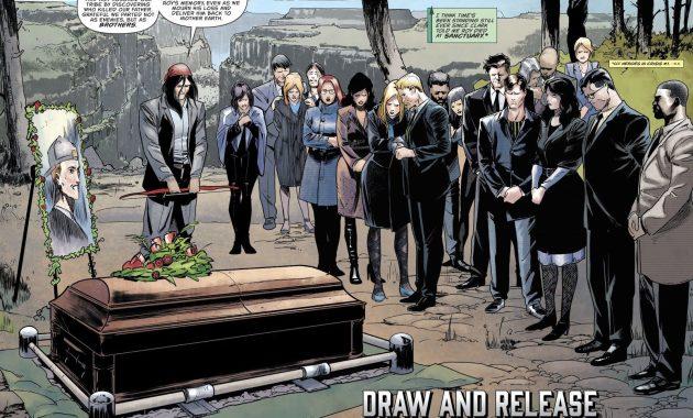 Roy Harper's Funeral