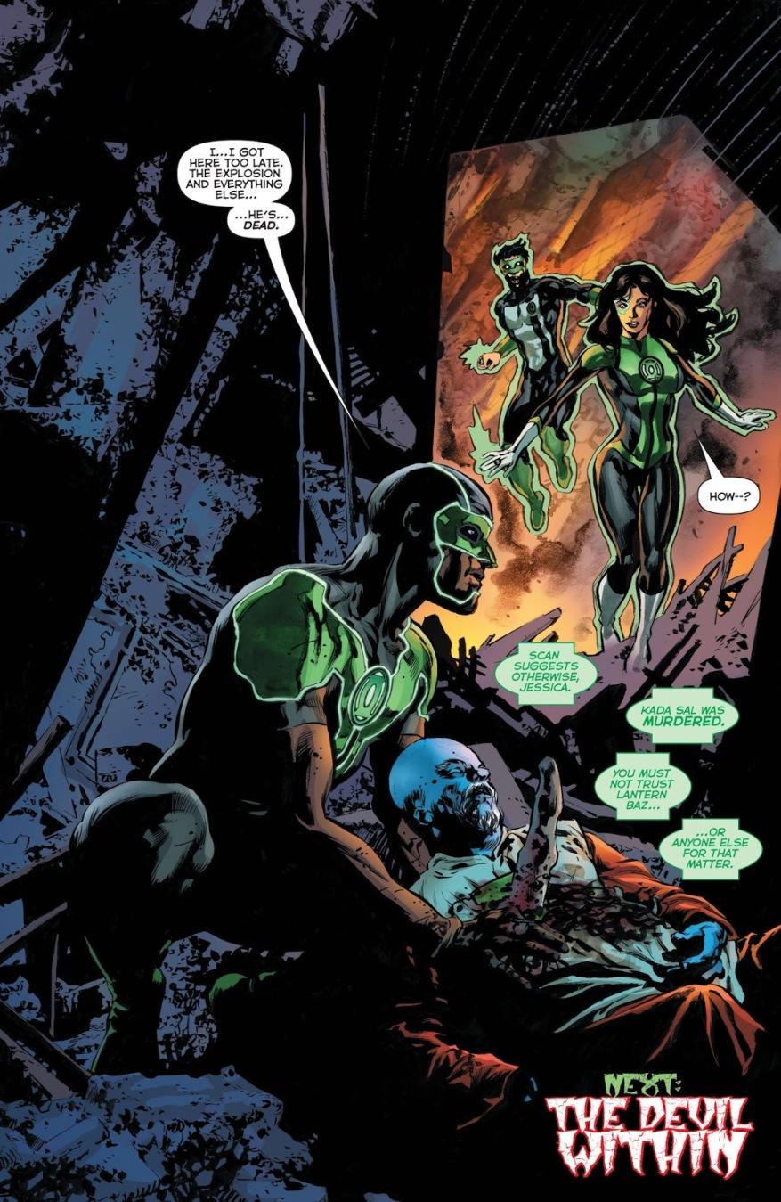 Simon Baz (Green Lanterns #50)