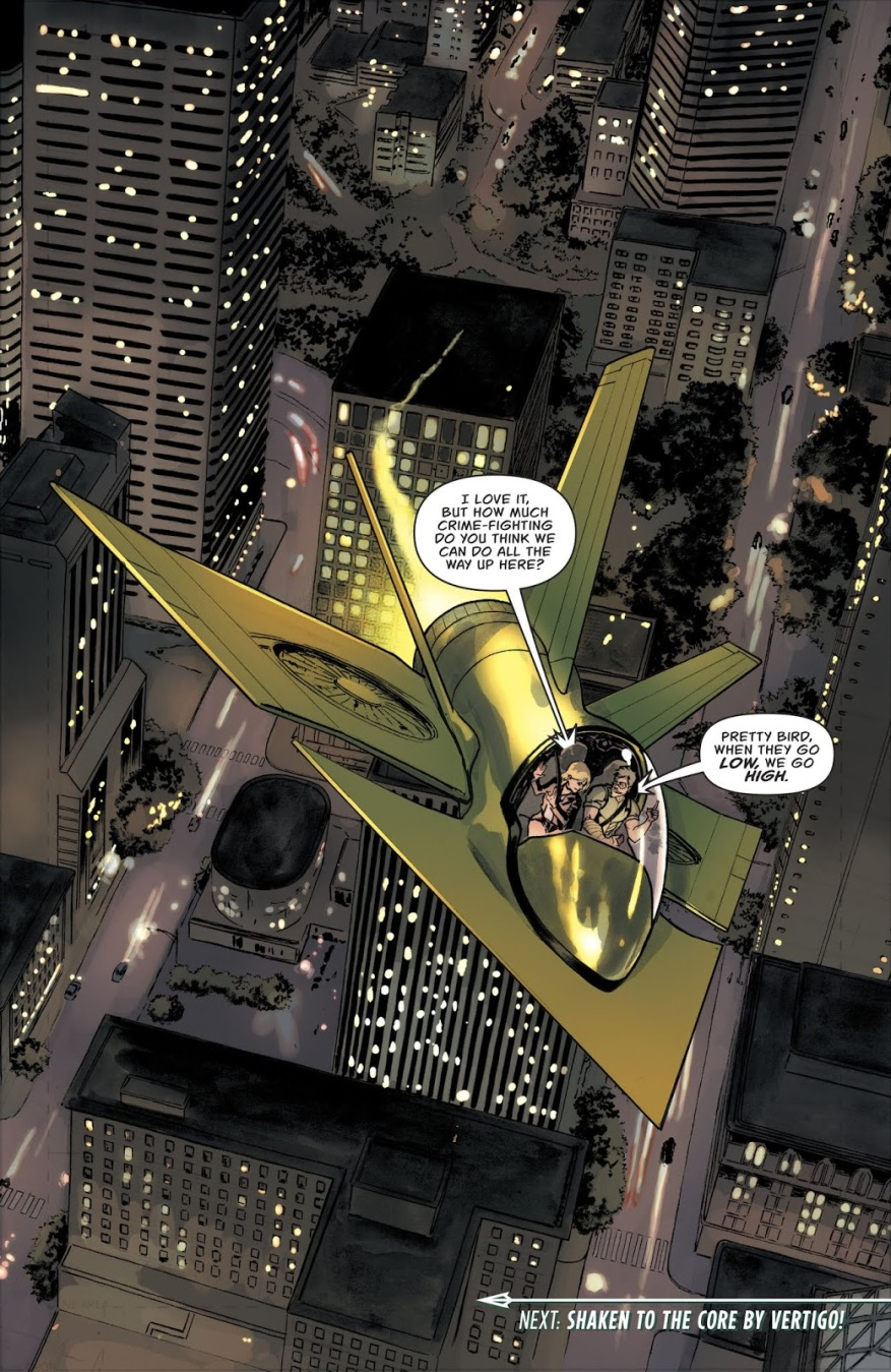 The Arrowplane (Green Arrow Vol. 6 #47)