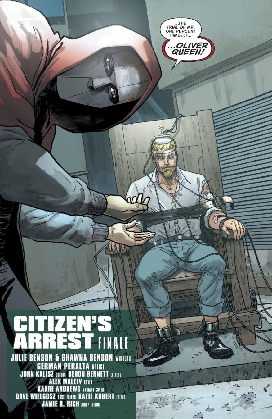 The Citizen Captures Oliver Queen