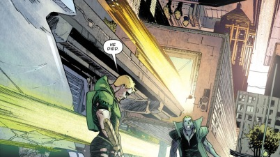 Green Arrow And Count Vertigo (Rebirth)