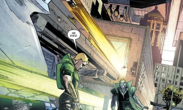 Green Arrow And Count Vertigo (Rebirth)