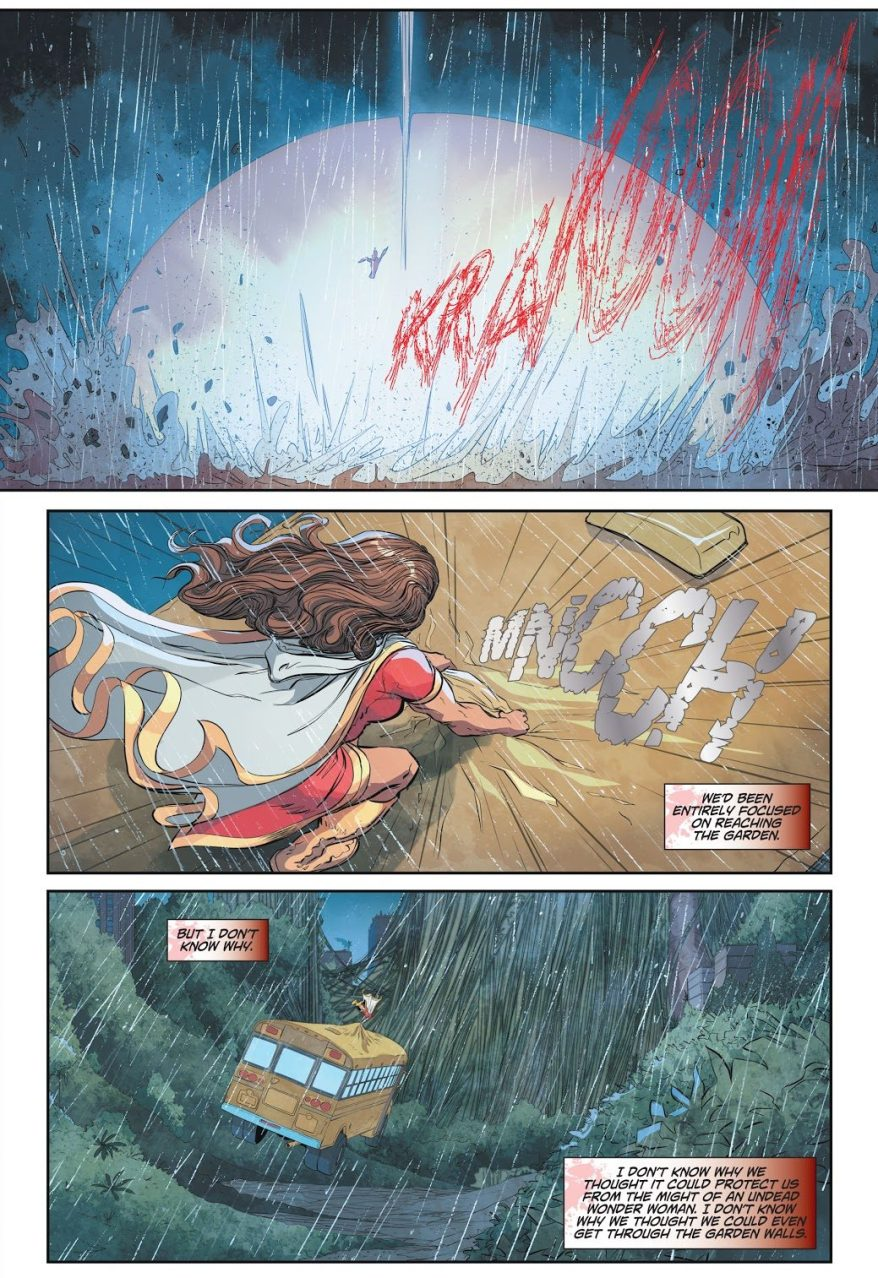 Mary Marvel VS Zombie Wonder Woman