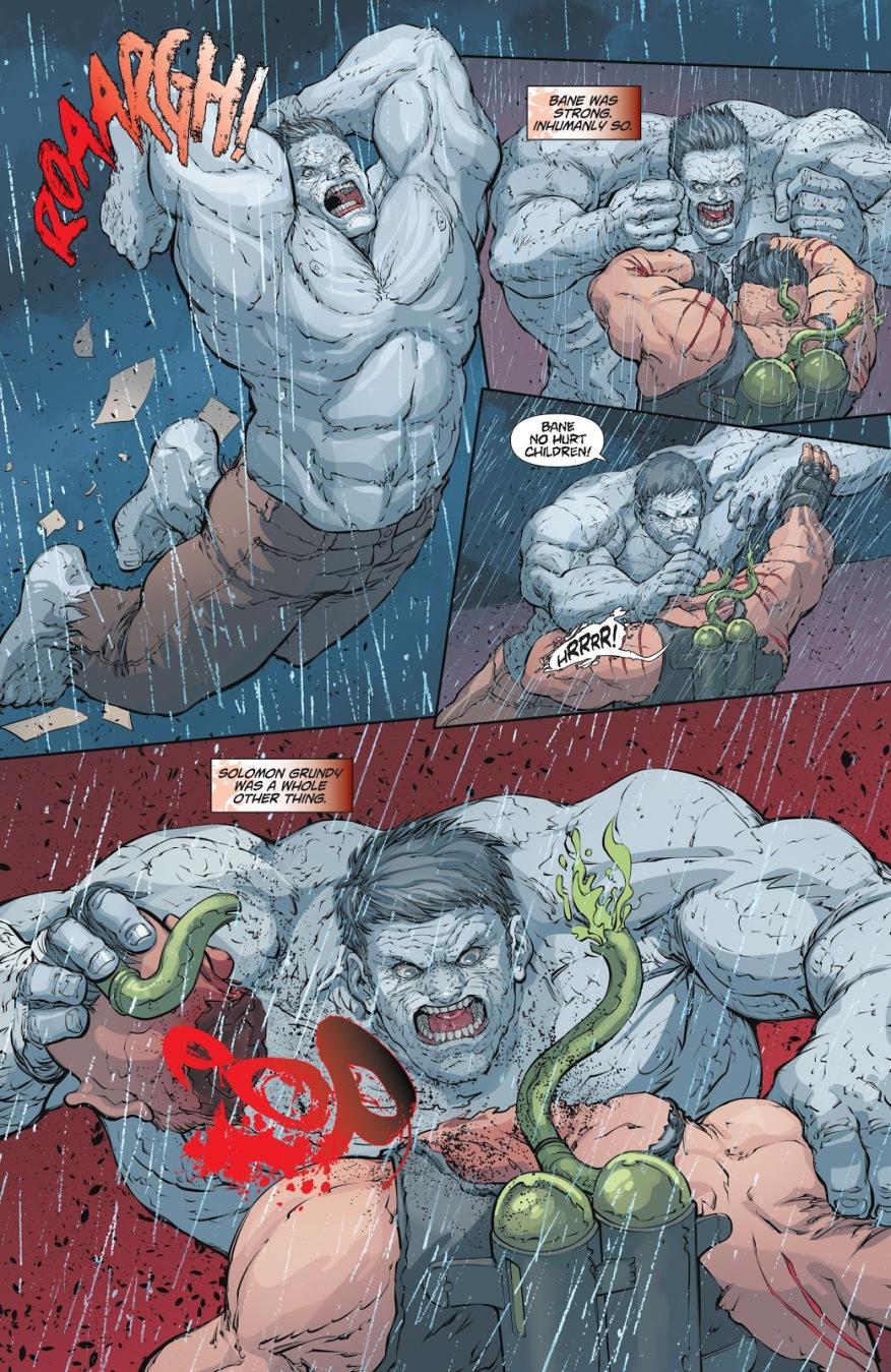 Solomon Grundy Kills Zombie Bane (DCeased)