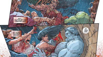 Zombie Wonder Woman VS Cheetah, Creeper And Solomon Grundy (DCeased)