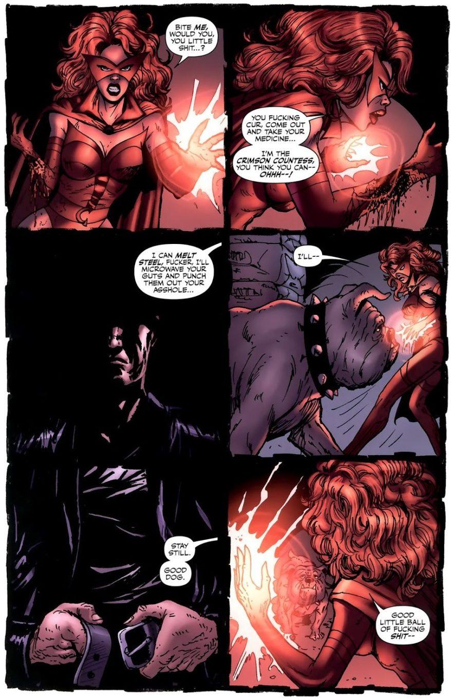 Billy Butcher Kills The Crimson Countess