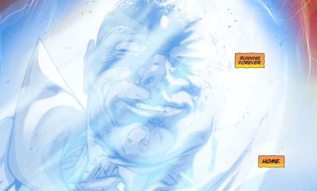 Max Mercury Joins The Speed Force (DCeased)