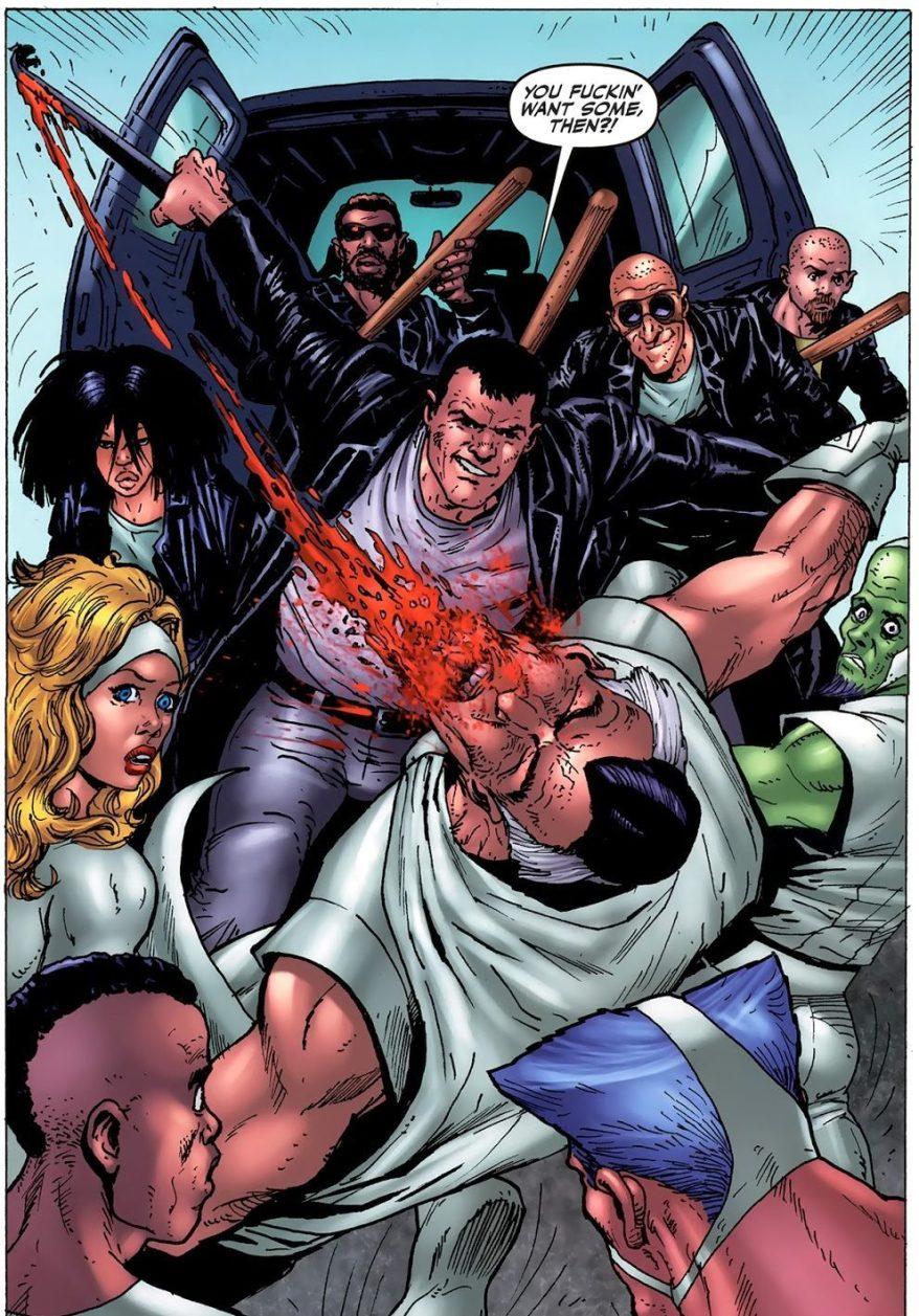 The Boys Beating Down A Superhero Team 2