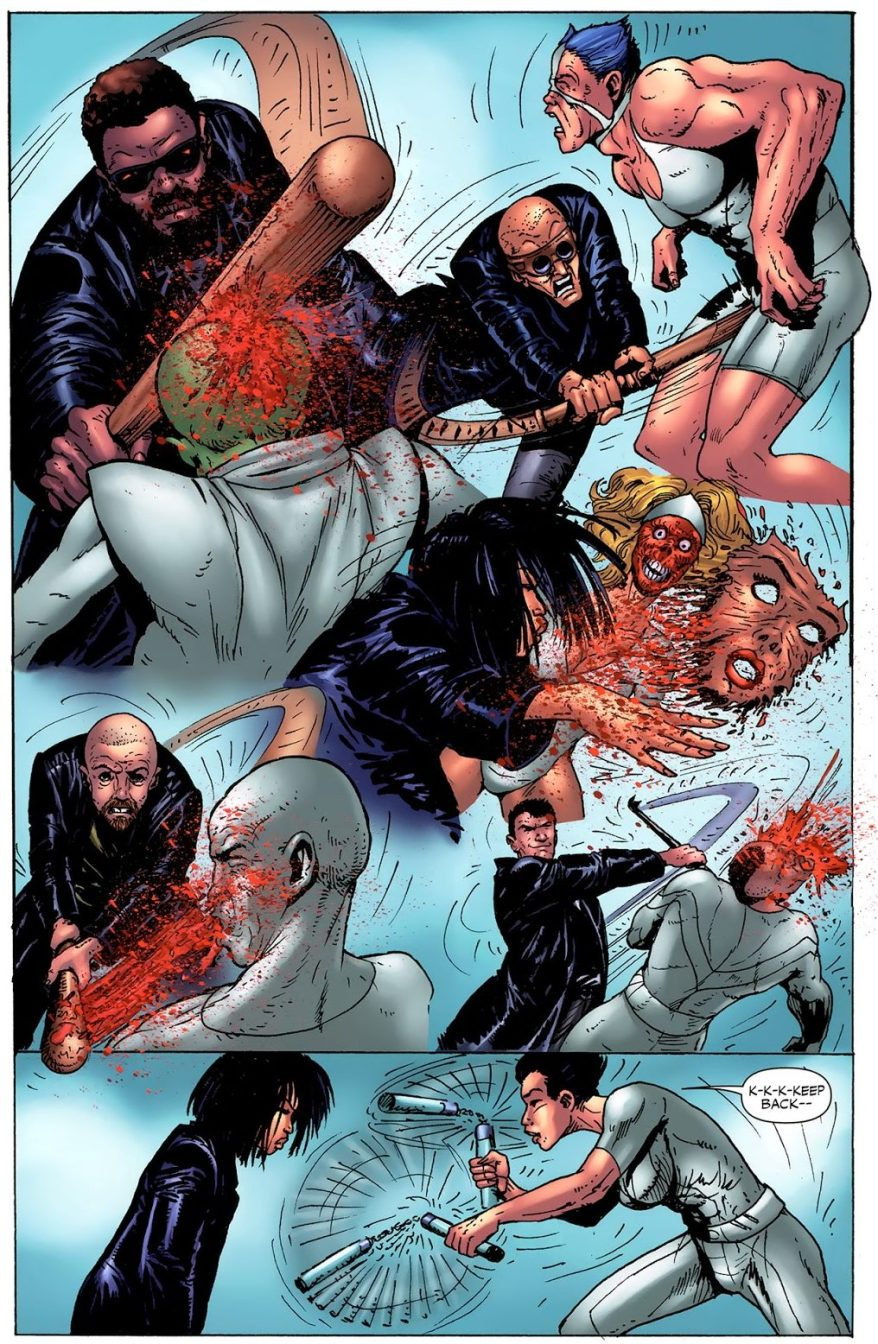 The Boys Beating Down A Superhero Team