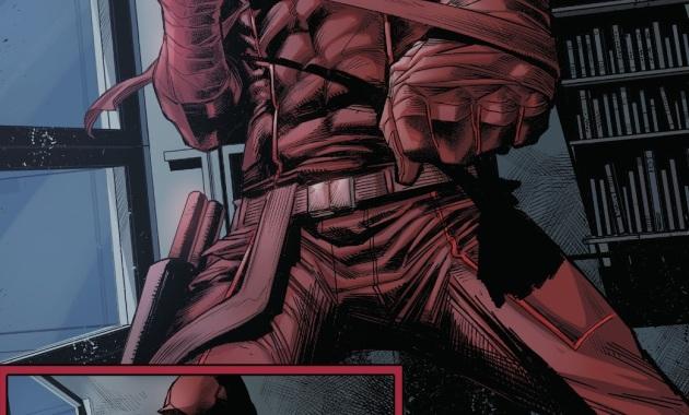 Daredevil Challenges Spider-Man