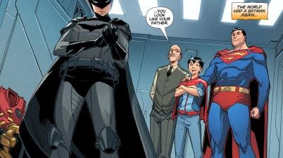 Superman Convinces Damian Wayne To Become Batman (DCeased)
