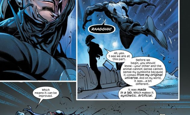 The Maker Created An Artificial Symbiote