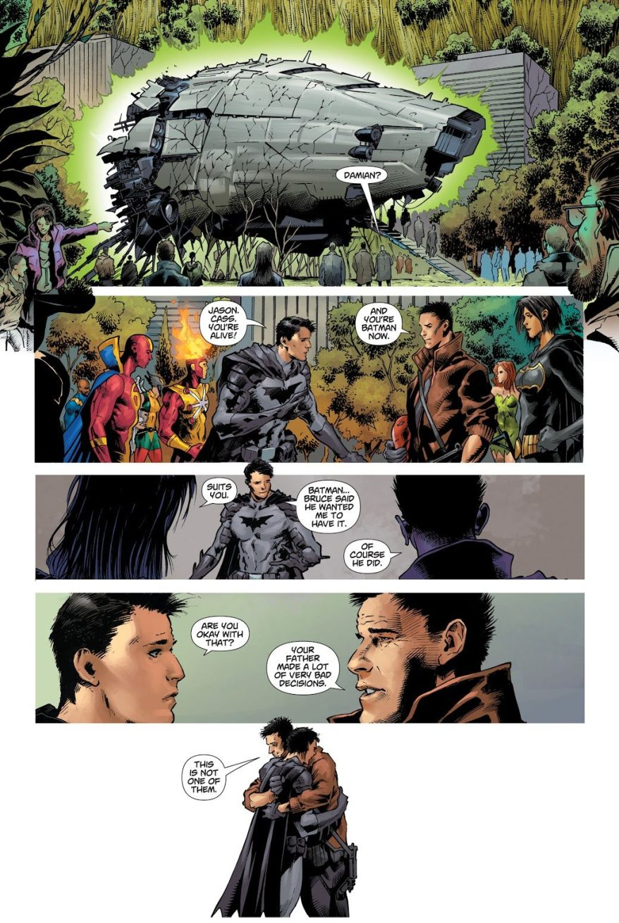 Damian Wayne Reunites With Jason Todd