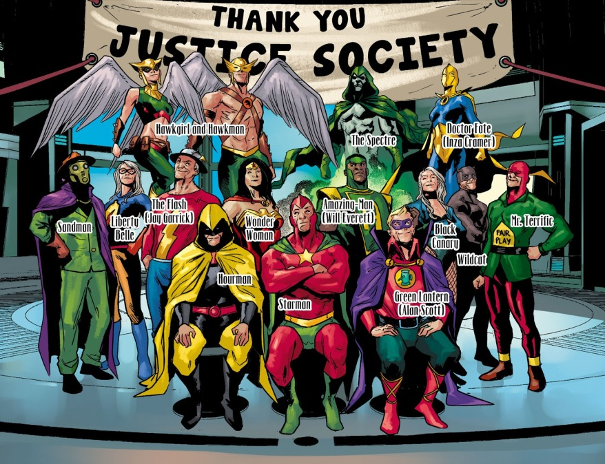 Justice Society Of America (Injustice Gods Among Us)