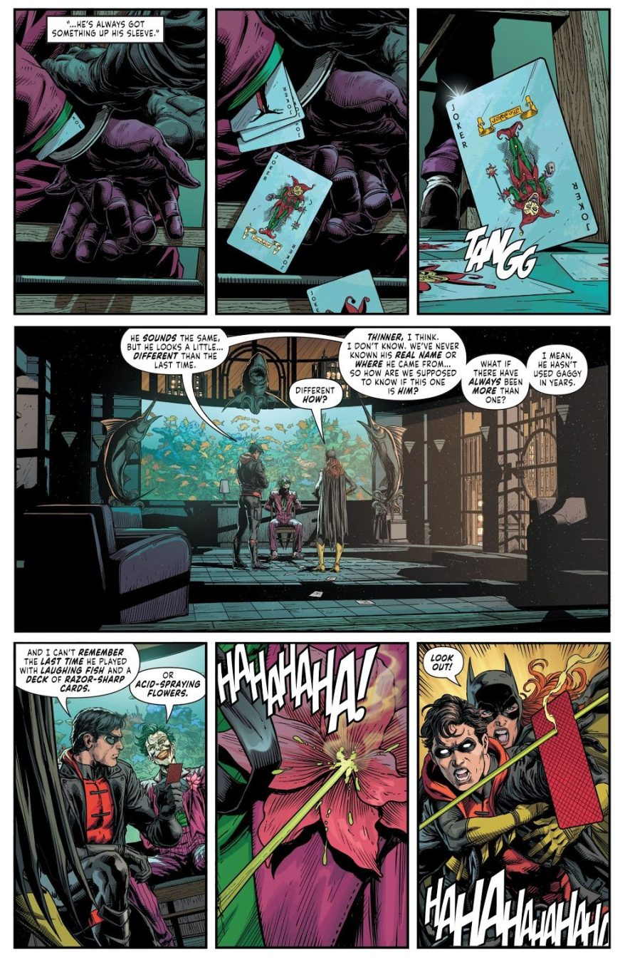 Red Hood Kills The Joker (Batman - Three Jokers)