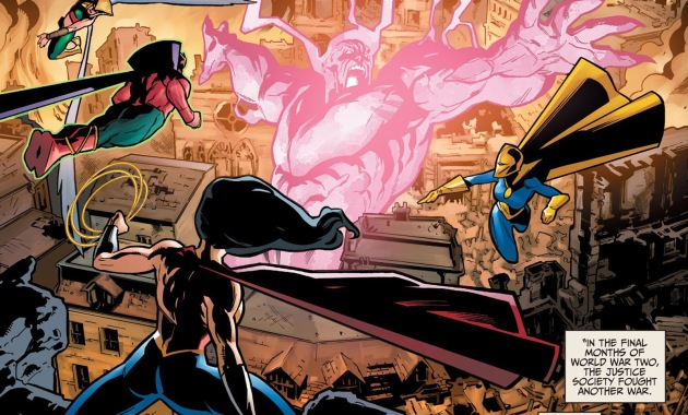 Justice Society Of America VS Yz (Injustice)