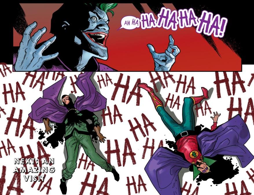 The Joker Kills Green Lantern Alan Scott (Injustice)