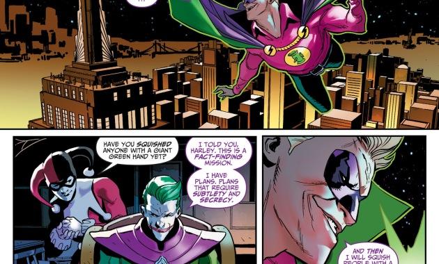 The Joker Takes Possession Of Green Lantern (Injustice)